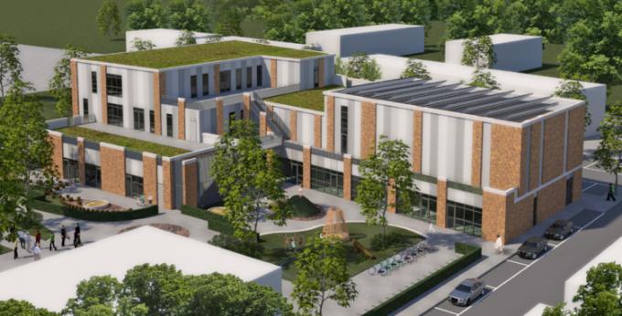 Nieuwbouw Montessorischool Parkrijk