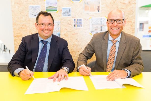 Gemeente Rijswijk tekent samenwerkingsovereenkomst voor 250 nieuwe woningen met Dura Vermeer