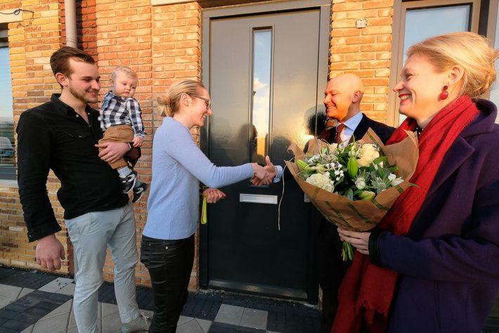 1000e woning RijswijkBuiten feestelijk gevierd
