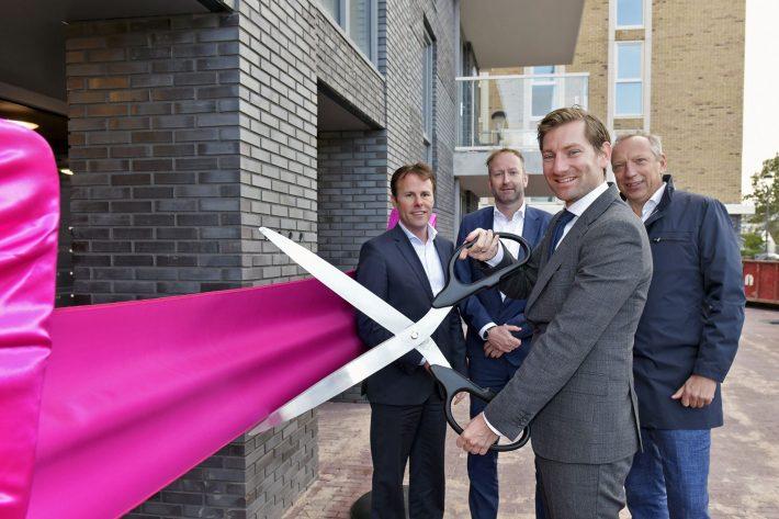 Opening toekomstbestendig appartementencomplex