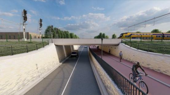 Werkzaamheden Laan van 't Haantje en Spooronderdoorgang RijswijkBuiten