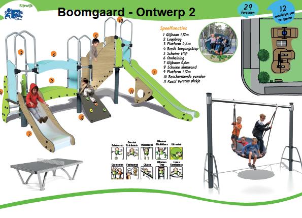 Aanleg speeltuin Boomgaard uitgesteld