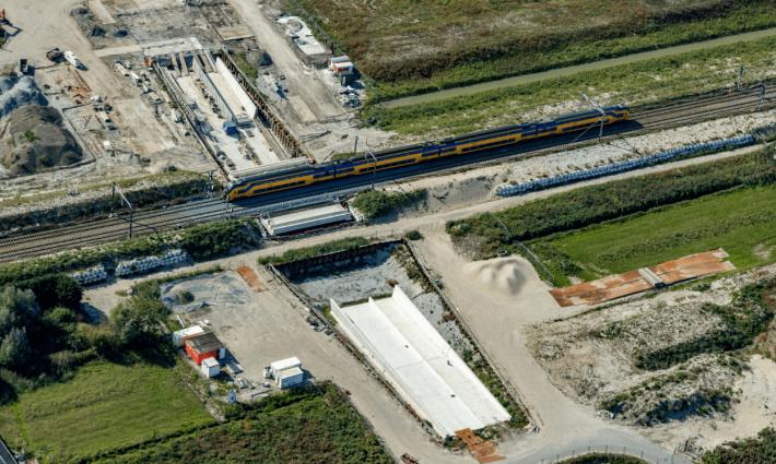 Werkzaamheden spooronderdoorgang RijswijkBuiten