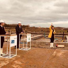 Feestelijke start bouw duurzame eengezinswoningen Park van Rodenburg RijswijkBuiten