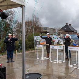 Start bouw duurzame en gepersonaliseerde appartementen en herenhuizen in De Buitenparel in RijswijkBuiten