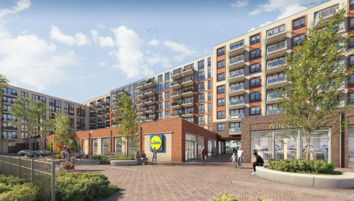 Woon-winkelcomplex De Koploper (in ontwikkeling)