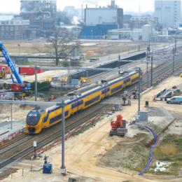 ProRail werkt op 17 tot en met 19 juli 2021 aan het spoor