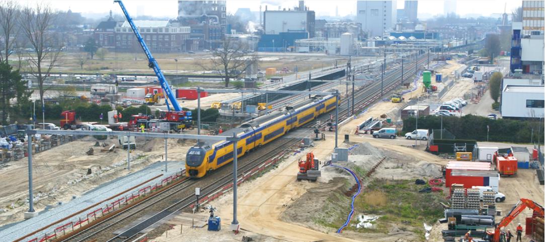 Geen treinverkeer in Rijswijk tijdens Hemelvaartsweekend
