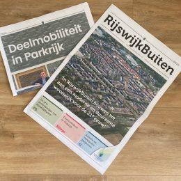 Lees de laatste ontwikkelingen in de RijswijkBuiten-krant