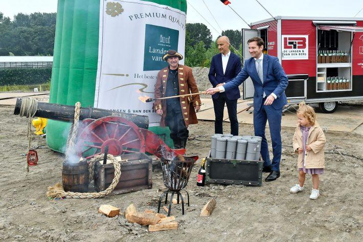 Feestelijke start bouw Landerijen van Sion in RijswijkBuiten