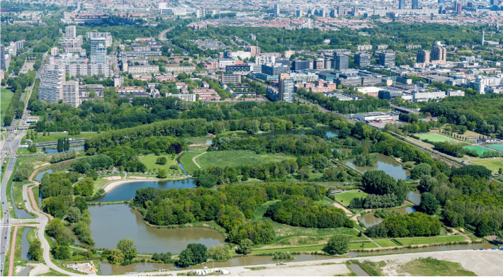 Realisatie tijdelijke toegang vanuit Parkrijk naar het Wilhelminapark