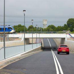 Spooronderdoorgang RijswijkBuiten geopend
