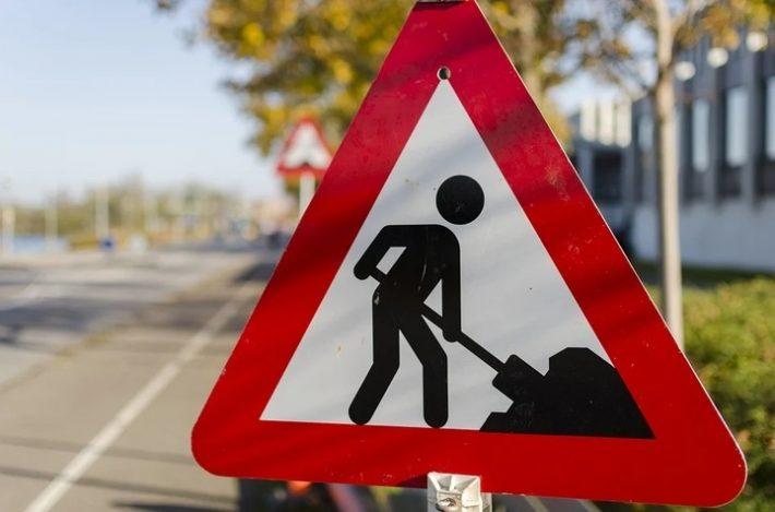 Tijdelijke omleiding fietsers en voetgangers Laan van 't Haantje